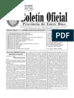 Boletin Oficial Provincia de Entre Rios -2014!06!13