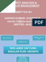Mutual Fund TATA- security analysis