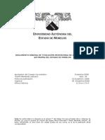 Reglamento General de Titulación Profesional UAEM