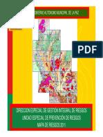Mapa de riesgos La Paz