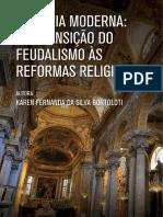 Historia Moderna Da Tansicao Do Feudalismo as Reformas Religiosas