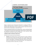 ACC 420 the Fraud Triangle Theory