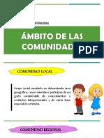 Ámbito de Las Comunidades-Desarrollo de Las Comunidades