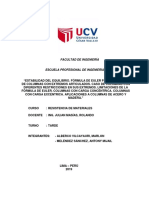 Informe Resistencia de materiales deflexiones