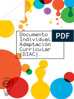 Documento Individual de Adaptación Curricular (DIAC)