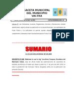 Gaceta Extra 50-2018