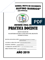 Informe Final Docencia Directa Evelyn