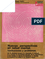 Varios Autores Nuevas Perspectivas en Salud Mental
