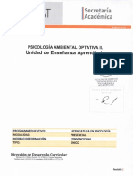 Sd Opt II Psicología Ambiental