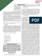[Ayacucho] Cuota de género en cargos directivos del Gobierno Regional de Ayacucho