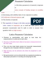 Lectut MTN-307 PDF Presentation XRD 11 LP Calculations G4yPXrO