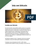 Invista Em Bitcoin