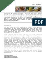 Foodblog über saisonales und regionales Kochen und Essen – Themen zu Foodwaste, Upcycling (..)
