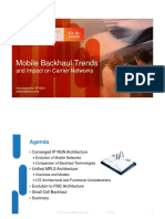 Mobile Backhaul Trends and Impact on Carrier Networks