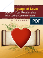 Language of Love worksheet