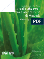 La Sabila Aloe Vera Petroleo Verde Cristalino de Venezuela