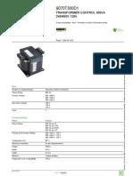 Industrial Control Transformers (Machine Tool)_9070T300D1