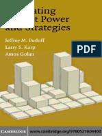 Perloff J.M., Golan A., Karp L.S. - Estimating Market Power and Strategies (2007).pdf