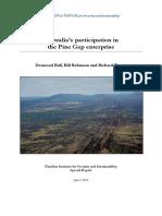 Australias Participation in the Pine Gap Enterprise