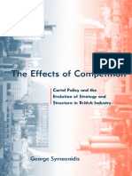 The Effects of Competition_ Cartel Policy and the Evolution of Strategy