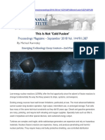 This is Not Cold Fusion Proceedings of US Naval Institute September 2018c