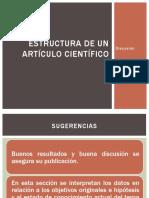 Estructura de Un Artículo Científico, Discusión