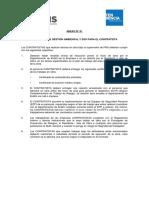 ANEXO N° 01 Requisitos de Gestión Ambiental