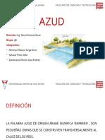 Diapositivas Azud 3b 1-2019