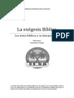 Exegesis Bib Lica