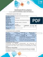 Guía de Actividades y Rúbrica de Evaluación - Tarea 2 - Elaborar Mapa Mental Sobre La Evolución de Los Seres Vivos