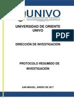 Protocolo Resumido de Investigacion 2017 (2)
