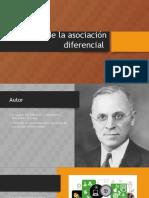 Teoría de La Asociación Diferencial