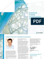 Autodesk Fy2018 Sustainability Report