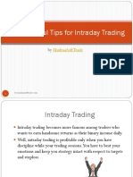 7 Successful Tips for Intraday Trading