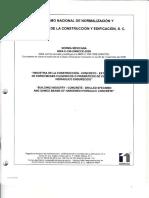 NMX-C-169-ONNCCE-2009-ExtXTRACCION DE ESPECIMENES CILINDRICOS O PRISATICOS DE CONCRETO HIDRAULICO ENDURECIDO.pdf