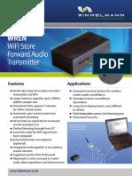WREN WiFi Store Forward Audio Transmitter