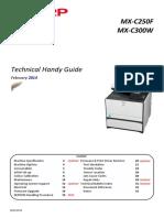 Manual de campo MX300W