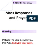 Mass responses