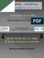 Detectives en la WEB