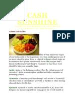 Cash Sunshine