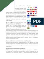 Acuerdo de Libre Comercio de Peru