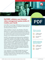 Dell EMC validates your Genetec video management system before it reaches your hands