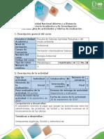 Guía de actividades y rúbrica de evaluación - Paso 2 - Reconocer la importancia de los compuestos orgánicos en la biología..docx
