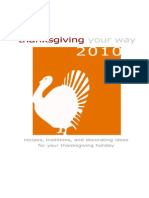 Thanksgiving Your Way eBook