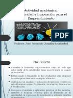 Presentacion Asignatura  Creatividad