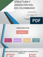 Estructura y Organización Del Estado Colombiano