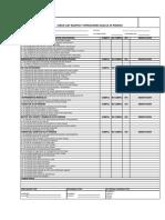 Check List Equipos Alta Presión (Mejora)