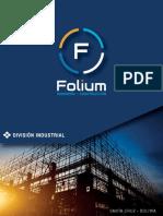Broshure de Folium