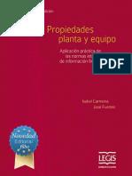 Libro Propiedad, Planta y Equipo. IC
