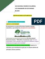certificaciones ecoturisticas